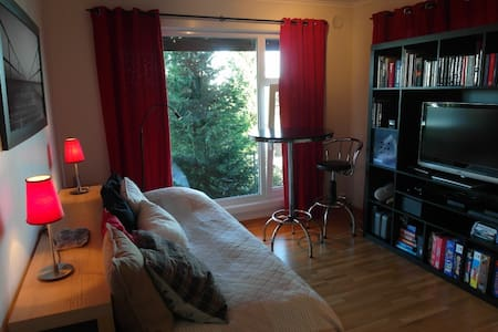 Koselig soverom 10min fra Kristiansand sentrum - Kristiansand - Casa