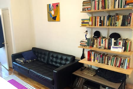 Clean, Quiet, Hip Apt in Bed Stuy