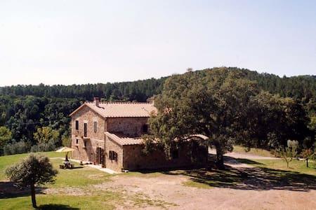 Apartment in farmhouse  between the sea and Siena - Apartamento