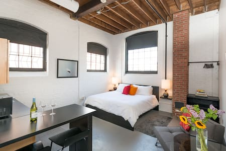 Stylish Loft in a Historic Mill - Çatı Katı