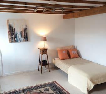Spacious cosy room in the attic near the centre - Edimburgo - Loft