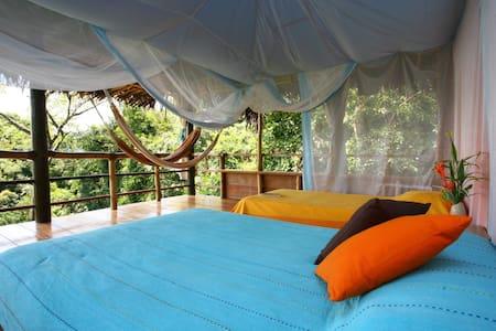 La Loma Jungle Lodge-Tree top cabin #2. FULL BOARD - Bastimento