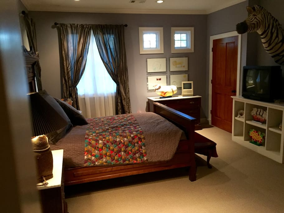 Private bedroom and bath