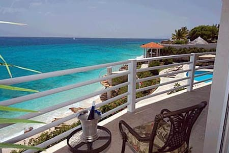 Beachfront condo St. Martin - Lowlands - Apartment