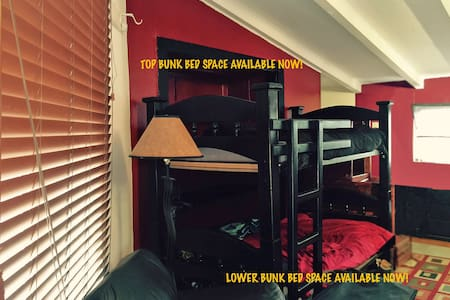 Bunk Bed in Artist Community - House