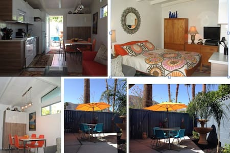 Mid Century Mod Casita Private, Patio Modernism Wk - 獨棟
