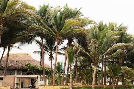 Private front beach house - Monterrico - House