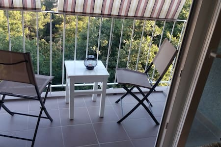 'GREEN ZONE ROOM' with a view over Kvarner Bay - Apartemen
