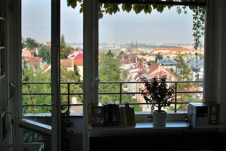 Apartment with Prague castle view - Praha - Leilighet