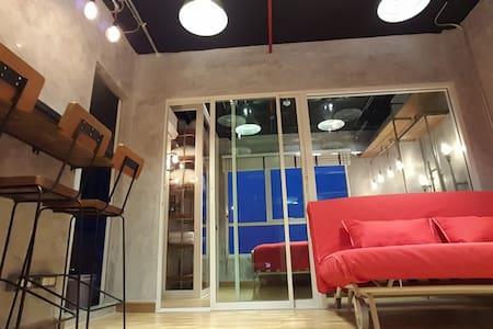 Cozy Loft 202 | 2Guest | 5 mins BTS Skytrain |WIFI - Apartment