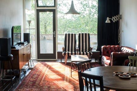 Spacious appartement near metro - Amsterdam-Zuidoost - Appartement