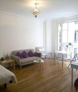 Charming renovated studio near Butte Montmartre - Paris - Wohnung