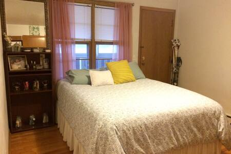 Spacious bedroom near UW Hospital