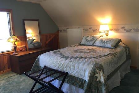 The Green Room | Charming Farmhouse - Hus