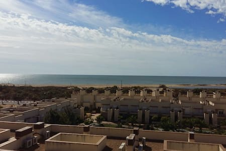 Beach apartment with great views to the sea. - Isla Cristina