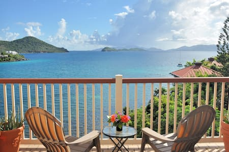 Oceanfront Apt with Private Balcony - St. Thomas