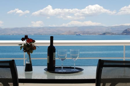IRIS (1 bedroom sea  view  apartment ) LINAMARE - Kiveri - Apartment