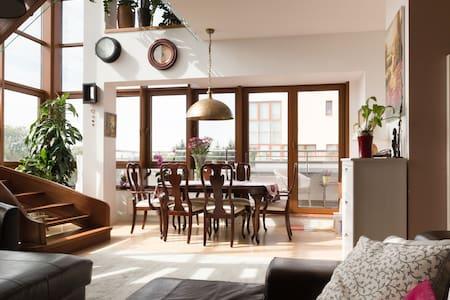 Pokój w wyjątkowym apartamencie - Konstancin-Jeziorna - Leilighet
