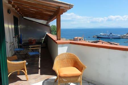 App.to molto panoramico Rio Marina - Apartment