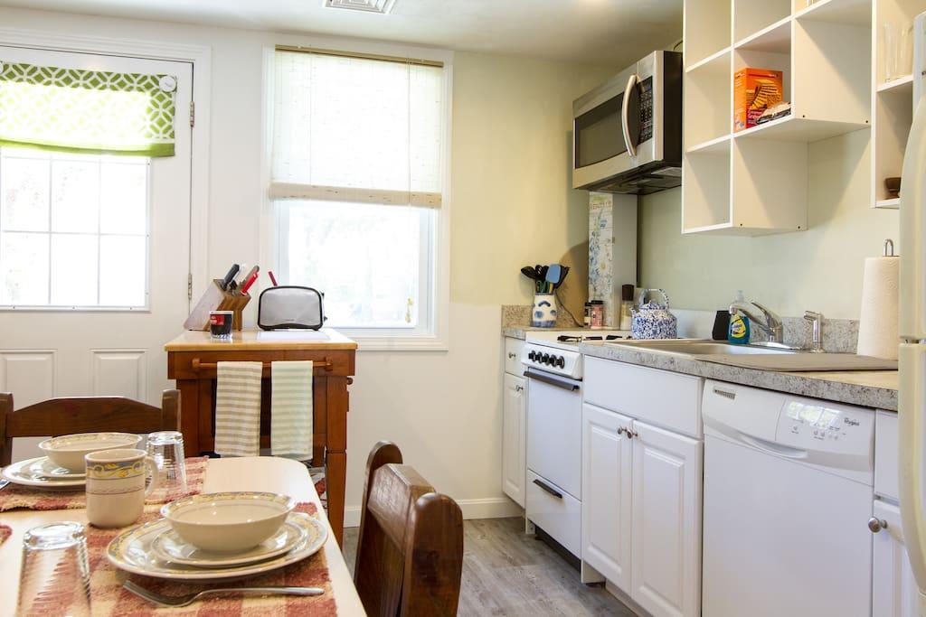 What a spacious Kitchen!