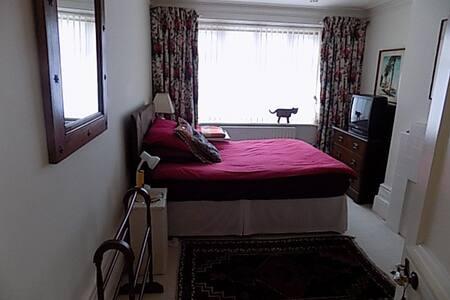 double bed, shower, and breakfast - Folkestone - Bed & Breakfast