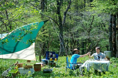 'Walk on the wild side' camping experience - Stan