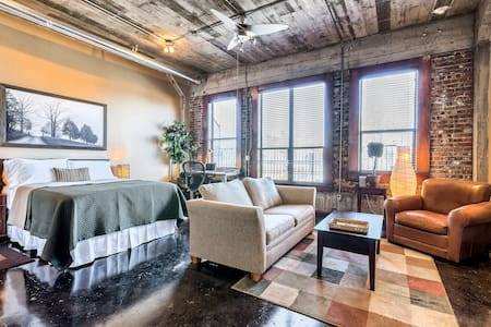 Downtown Loft with city views - Houston