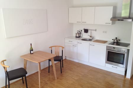 Helle Wohnung mit Garten in Zentraler Lage - Darmstadt - Apartment