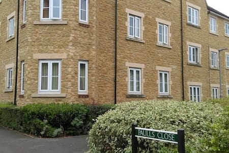 Great 1bed flat+sofabed, parking, Hamstone Village - Martock