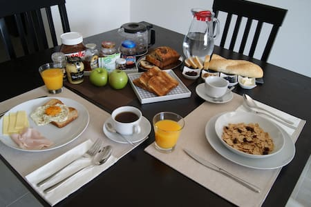 Clean room & delicious breakfast! - Santiago de Querétaro - Apartment