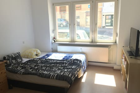 ☼comfortable room with a big waterbed+TV in Bingen - Apartment
