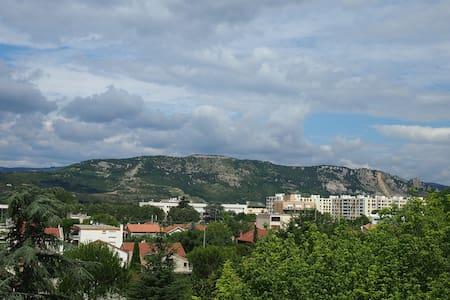 Chb 1 ou 2 pers. avec vue sur l'Ardèche - Appartement