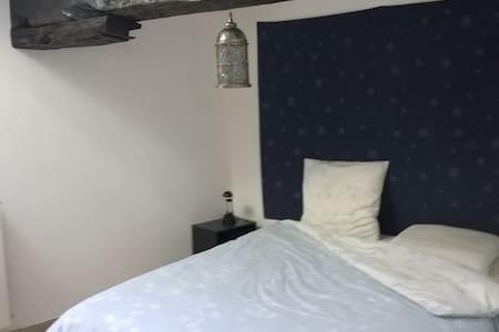 Chambre agréable dans un appartement chaleureux. - Layrac - Appartement