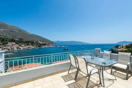 Magic Sea View Apt in Agia Efimia - Agia Effimia - Daire