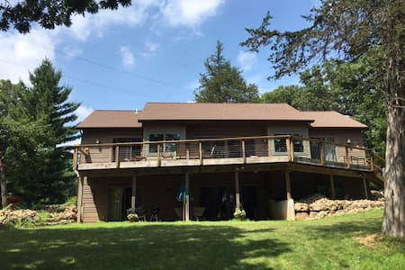 Modern House on Lake Wisconsin - Merrimac - Ev