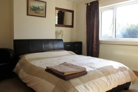 Double Room with shared bathroom - House