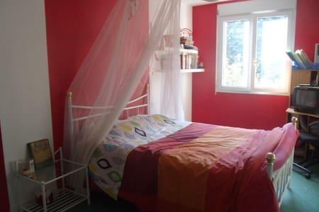 Chambre spacieuse et au calme, proche de Laval. - Saint-Berthevin - Dům