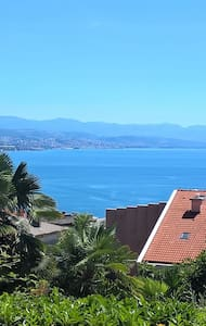 Opatija sea view apartment with a private parking - Opatija - Wohnung