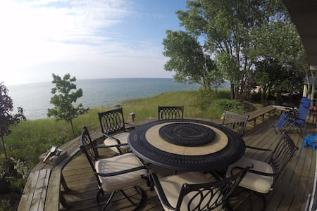 New Buffalo Michigan Lake Front Home - 단독주택
