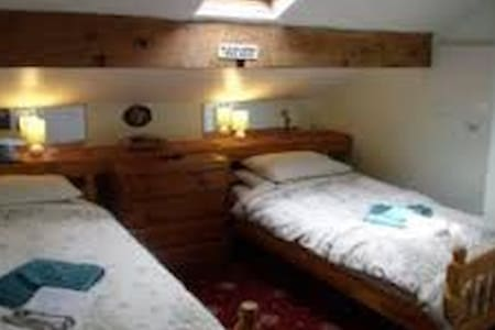Twin en-suite room 2 (near the Winter Gardens - Blackpool - Appartement