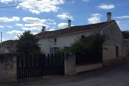 House in the Charente - Aubigné - House