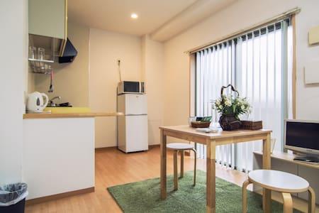 Kyoto St3min/Convenient/2single bed/Spacious - Appartement