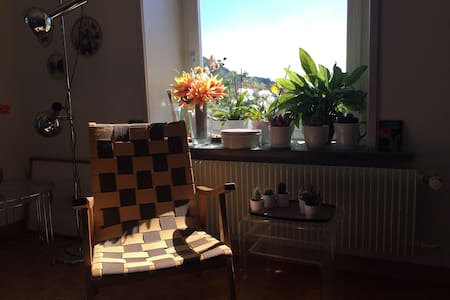 cosy flat with a balcony near Baden/Zurich - Appartement