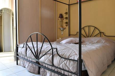 1 chambre2 per. (litBB sur demande) - 芒通 - 公寓