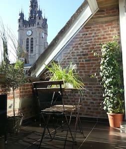 Superbe Loft vue sur Beffroi Douai - Byt