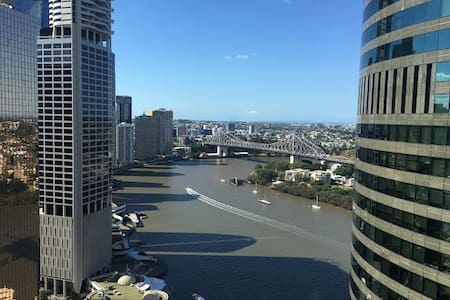 Brisbane City Room - pool, gym, spa - Lejlighed