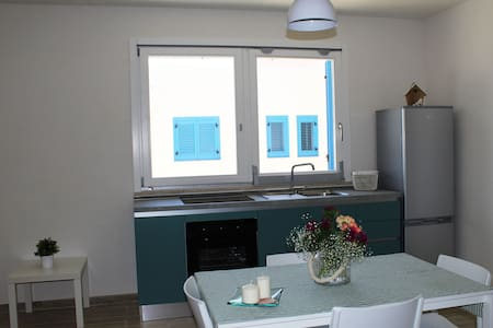 Appartamento moderno con verandina sul giardino - Favignana - Apartment
