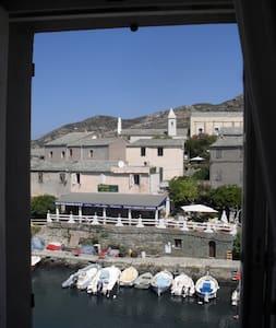 Grande maison sur le port de Centuri . - Centuri