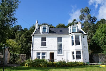 Detached villa, sea views, Scotland - Talo