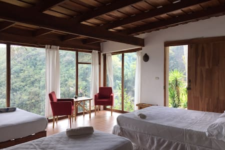 El Salto Ecolodge, Family Room 5p - Paraíso - Bed & Breakfast